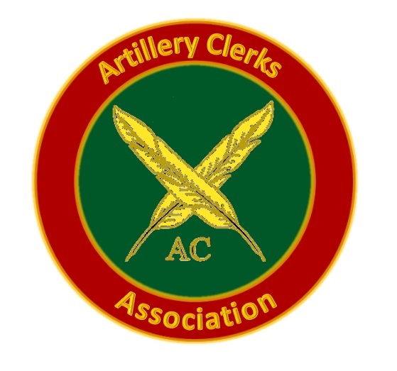 Artillery Clerks' Association Badge