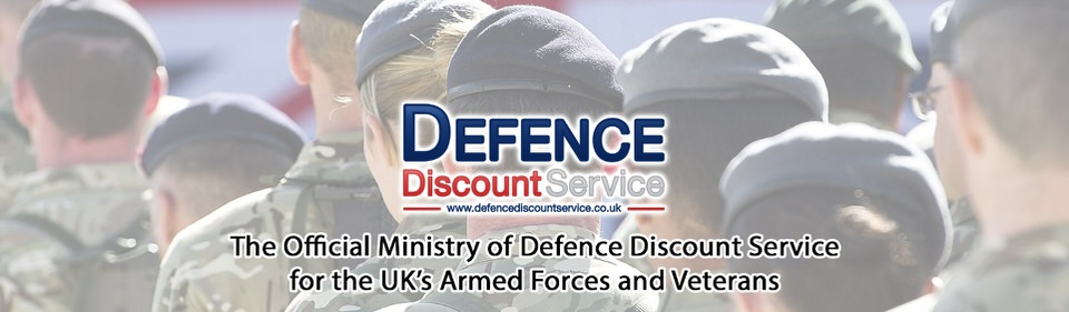 The Defence Discount Service Header Image
