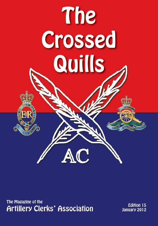 Crossed Quills Edition 15, January 2012