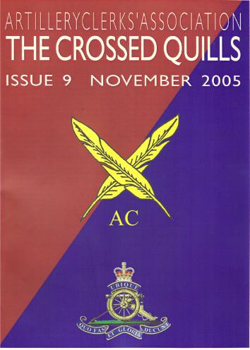 Crossed Quills Edition 9, November 2005